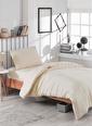Eponj Home Paint Nevresim Takımı Tek Kişilik D.Boya Kapi Ekru
